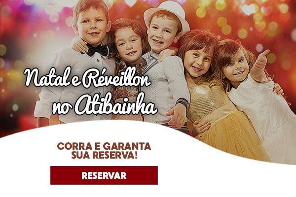 Natal e Réveillon no Atibainha