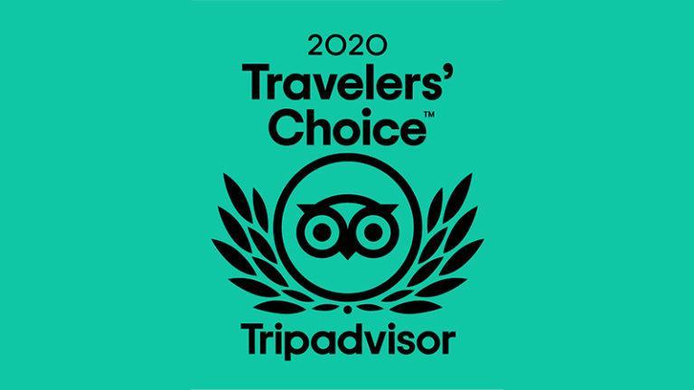 Prêmio Travellers' Choice do Hotel Estância Atibainha