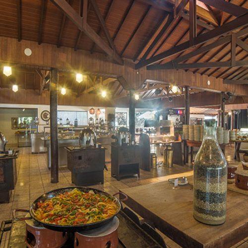 Resort SP Atibainha Hotel Gastronomia